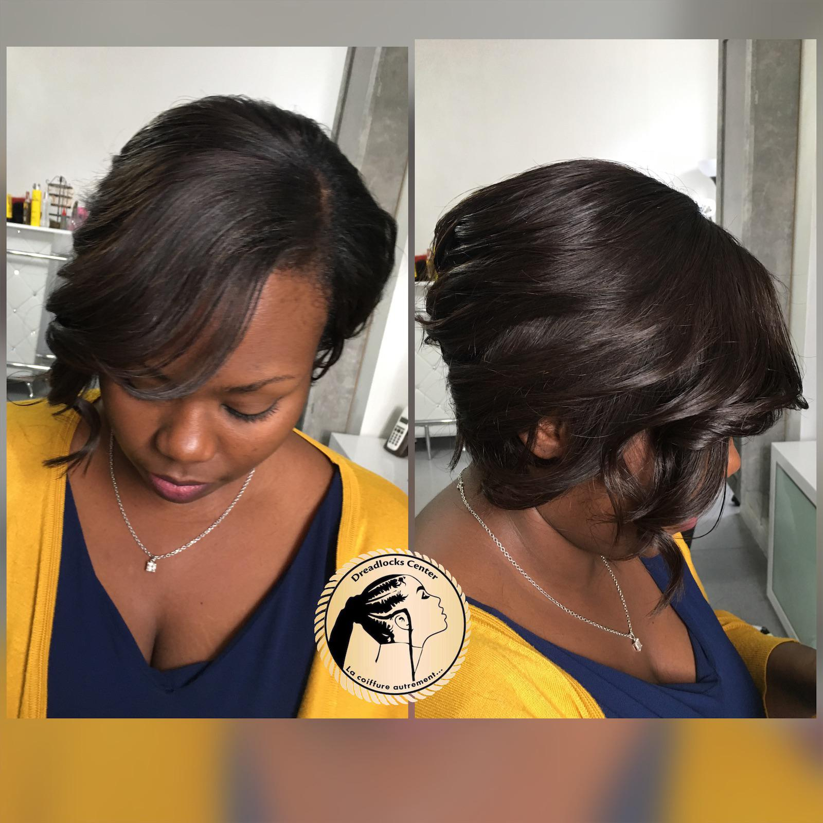 coiffure afro tissage