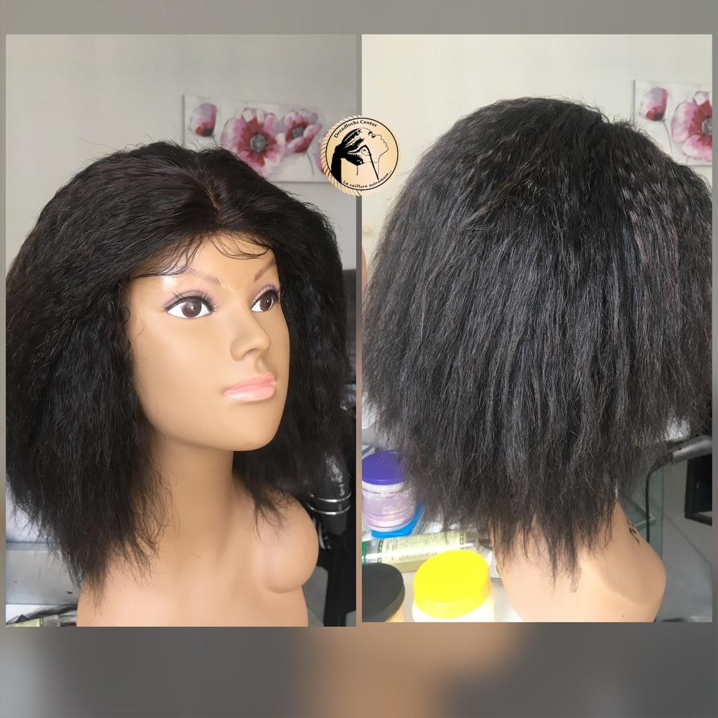 Photo perruque coiffure Afro